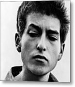 Bob Dylan B. 1941 Informal Portrait Metal Print by Everett