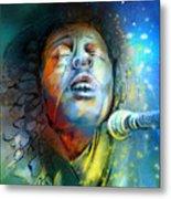 Bob Marley 10 Metal Print