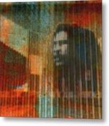 Bob Marley Abstract II Metal Print