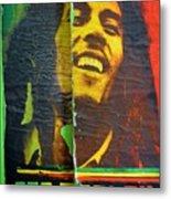 Bob Marley Door At Pickles Usvi Metal Print