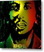 Bob Marley Print Metal Print