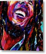 Bob Marley Reggae Portrait Metal Print