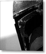 Boba Fett Helmet Metal Print by Micah May
