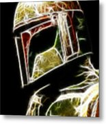 Boba Fett Metal Print by Paul Ward
