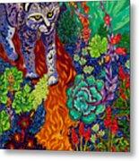 Bobcat Kachina  Metal Print