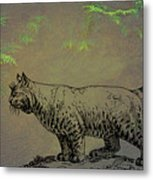 Bobcat Metal Print