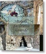 Boboli La Grotta Grande 2 Metal Print by Ellen Henneke