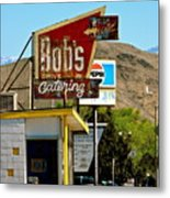 Bobs Caterting Metal Print