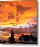 Boca Chita Sunset Metal Print