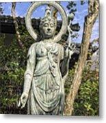 Boddhisattva Buddhist Deity - Kyoto Japan Metal Print