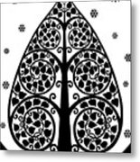 Bodhi Tree_v-7 Metal Print