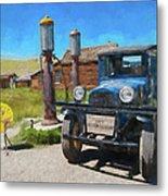 Bodie California Ghost Town Old Vintage Dodge Truck Ap Metal Print