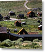 Bodie Ghost Town Panorama Metal Print