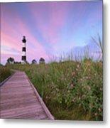 Bodie Island Obx Sunrise Metal Print