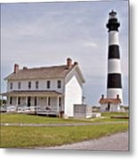 Bodie Lighthouse Nags Head Nc Metal Print