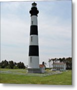 Bodie Lighthouse Nags Head Nc V Metal Print