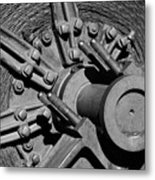 Bodie Mining Equipment Metal Print