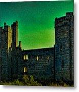 Bodium Castle Panorama Metal Print