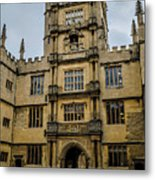 Bodleian Library Main Gate Metal Print