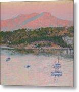 Bodrum.pink Sunrise Metal Print