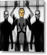 Body Language 64 Metal Print
