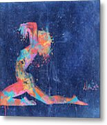 Bodyscape In D Minor - Music Of The Body Metal Print