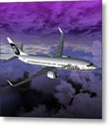 Boeing 737 Ng 001 Metal Print