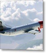 Boeing 737 Norwegian Air Metal Print