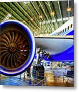 Boeing 787 Exterior Metal Print