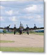 Boeing B-17 Flying Fortress Sally B Metal Print