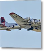 Boeing B-17g Flying Fortress Metal Print