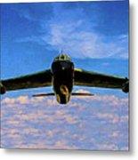 Boeing B-52 Stratofortress Oil Metal Print