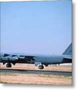 Boeing B-52g Stratofortress 59-2588 93rd Bomb Wing Castle Afb October 24 1993 Metal Print