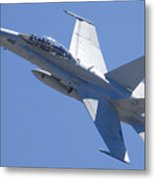 Boeing-mcdonnell-douglas Fa-18f Super Hornet 446 Of Vfa-125 Rough Raiders  Metal Print