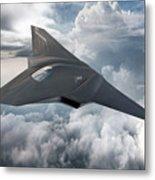 Boeing Next Gen Fighter Concept Metal Print