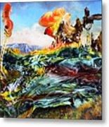 Bogomil Landscape Metal Print by Otto Rapp