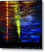 Boiling Colors Metal Print