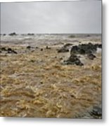 Boiling Waters Metal Print