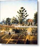 Bois De Fleche Plantation Louisiana 1861 Metal Print