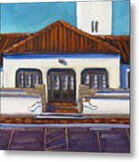 Boise Train Depot Metal Print