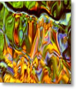 Boisterous Bellows Of Colors Metal Print