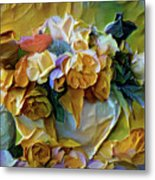 Bold Bouquet Metal Print