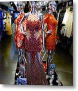 Bold Mannequins Fashion Display In Palma Majorca Spain Metal Print
