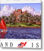 Boldt's Castle Poster Metal Print