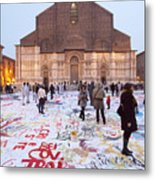 Bologna Cathedral Metal Print