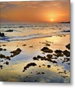 Bolonia Beach II Metal Print