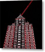 Bolt Out Of Blackness Metal Print