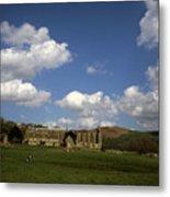 Bolton Abbey Wharfedale Near Skipton North Yorkshire England Metal Print