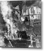 Bomb Strike Metal Print