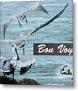 Bon Voyage Metal Print